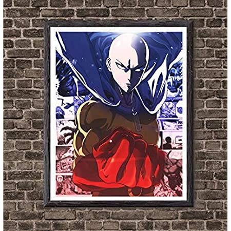 One Punch Man Anime Large Poster Art Print in multiple sizes