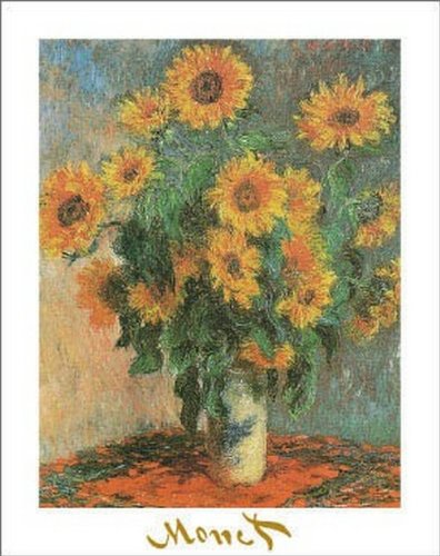 artworkforless.com Sunflowers, 1881 by Claude Monet - 28 x 22 inches - Fine Art Print/Poster