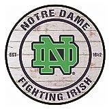 YOMIA Blechschilder Notre Dame Fighting Irish Metal Sign