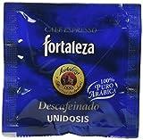 Café FORTALEZA - Cápsulas de Café Descafeinado Sistema ESE 44 - Pack 1 x 25 - Total 25 unidosis