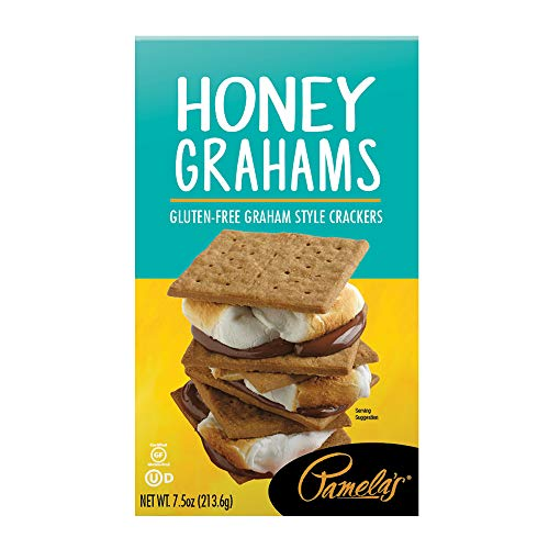 Pamela's Products Gluten Free Graham Crackers, Honey (Pack of 6)