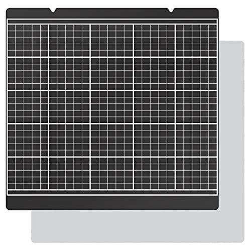 Wenyounge 3D-Drucker MK52 Heatbed Sheet Platform Bauplatte Schwarze Aufkleberplatte Für Prusa Mk52 Heat Bed Printer