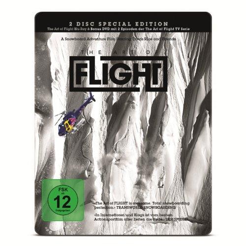 The Art of Flight - Steelbook Edition (inkl. exklusiver Preview der neuen The Art of Flight - TV-Serie) (exklusiv bei Amazon.de) (2 Discs) (Blu-ray, DVD) [Alemania] [Blu-ray]