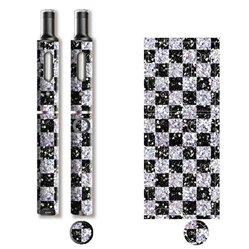 電子たばこ タバコ 煙草 喫煙具 専用スキンシール 対応機種 プルーム テック プラス Ploom TECH+ Ploom Tech Plus ロイヤルジュエリ (1) イメージデザイン 03 Royal Jewely 1 01-pt08-0072