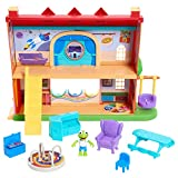 Disney Junior Muppets Babies School House Playset, Includes Articulated Kermit the Frog Figure and Accessories