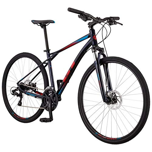 BICICLETAS GT GT 19 TRANSEO Comp 700 T-M Bicicleta Ciclismo, Adultos Unisex, Azul (Azul)