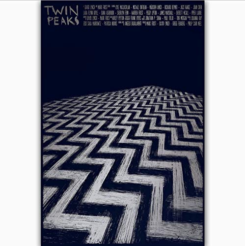 yhnjikl New Twin Peaks US Hot New TV Series Show Cover Hot Art Poster Top Silk Canvas Home Decor Picture Wall Printings 40x60cm Ohne Rahmen
