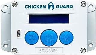 ChickenGuard Automatic Chicken Coop Door Openers, 3 Models, Timer/Light Sensor, Lift up to 4kg Pop Hole Door, Batteries or Mains Power. (Standard)