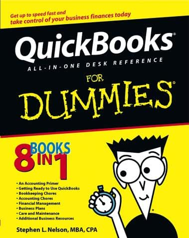Quickbooks All-In-One Desk Reference for Dummies