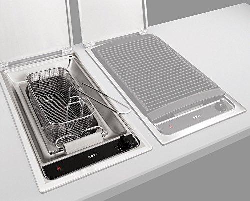 NOVY 3710 Singolo 4L 2200W Nero, Acciaio inossidabile fryer