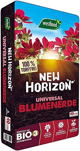 Westland New Horizon torffreie Blumenerde, Blumenerde, 735104, 40 L