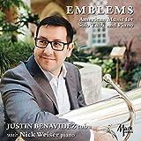 Justin Benavidez: Emblems - American Music for Solo Tuba & Piano