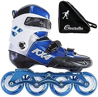 Sponsored Ad - Inline Skates of Carbon Fiber Adjustable with Omniroller Bag Included!