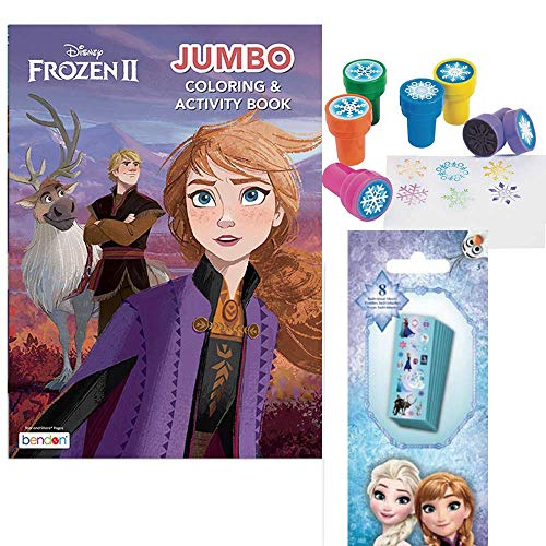 Disney Frozen activity set with ultimate stickers and jumbo coloring book.