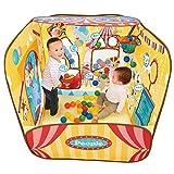 頭と体の知育ボールサーカス 対象年齢1歳以上 遊び方20種類以上 ママが見えて安心シリーズ ハウスに変身 長く遊べる