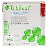 Tubifast 2434 - Vendaje tubular, elástico, 10 m, línea roja pequeña, 3,5 cm