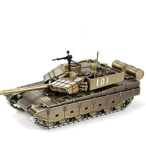 Escala 1:50 Mini German Tiger Panzer RC Tank Crawlers Chariot con Control Remoto Batería Luz Sonido Torreta giratoria y Rec