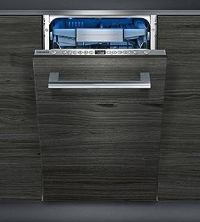 Siemens iQ500 SR656X01TE lavavajilla Totalmente integrado 10 cubiertos A+++ - Lavavajillas (Totalmente integrado, Estrecho (45 cm), Acero inoxidable, Botones, 1,75 m, 1,65 m)