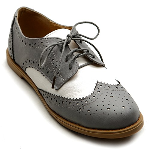 10 best ladies oxford shoes heels two tone for 2020