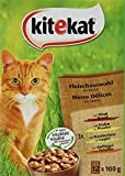 Kitekat Katzenfutter Nassfutter Klassische Auswahl in Sauce
