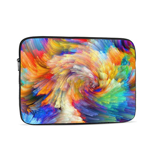 3D Printed Water Resistant Marble 19 Laptop Sleeve Case,10 Inch Laptop Bag for Women,Computer Bag for Netbook
