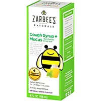 Zarbee's Naturals Children's Cough Syrup 4 Ounce