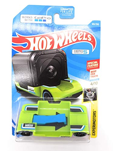 Hot Wheels EXPERIMOTORS 4/10, Green Zoom in 103/250