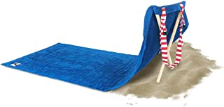 Origama American Eagle - Beach & Pool Towel with backrest. Beach Towel, Beach Chair and Sun Lounger in one Product for Kids & Adults. Towel 100% Cotton Materials w/Set of Wood Stakes That Turn