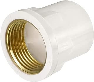 uxcell 32mm Slip x 1 PT Female Brass Thread PVC Pipe Fitting Adapter 2 Pcs
