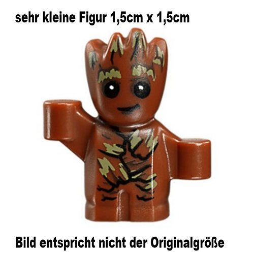 LEGO Guardians of the Galaxy Vol. 2 Minifigur Groot (very small Figur 1,5cm x 1,5cm) 76081 76080