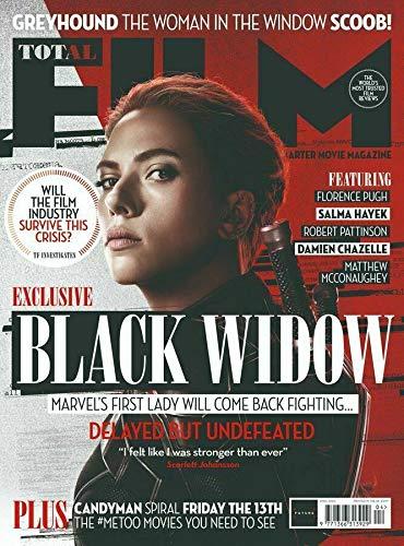 TOTAL FILM MAGAZINE UK APRIL 2020. BLACK WIDOW. HAVE MINOR DAMAGE.