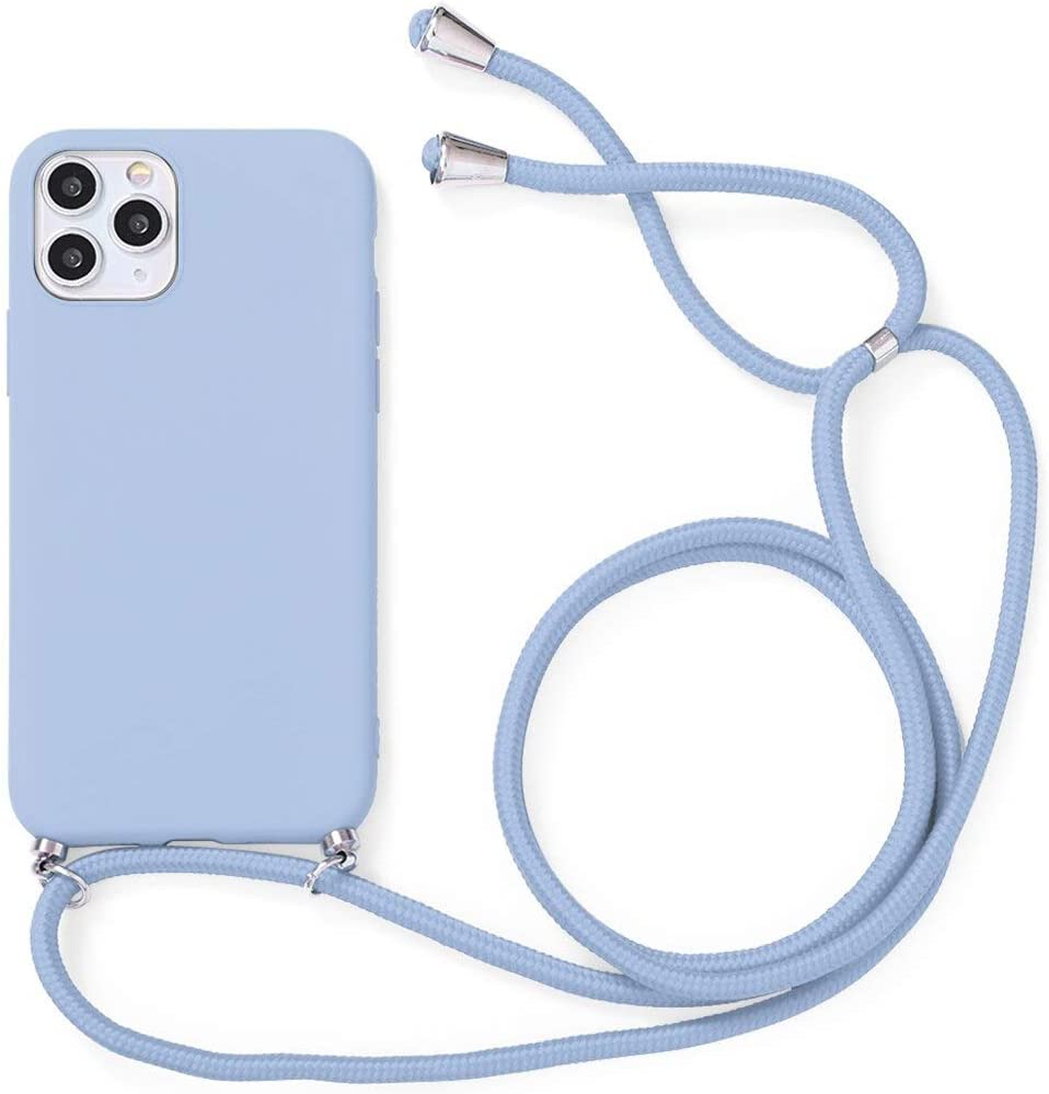 Yoedge Crossbody Case for Huawei Honor Play 5T Youth (4G), Neck Cord Phone Case with Adjustable Lanyard Strap, Silicone Shock-Proof Cover Compatible with Honor Play 5T Youth 4G [6.6