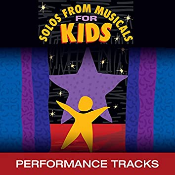 Solos from Musicals for Kids (Performance Tracks)