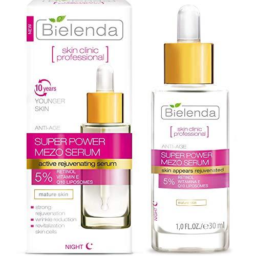 Bielenda Professional Mezo Antifalten Verjüngung Serum mit Retinol 30 ml