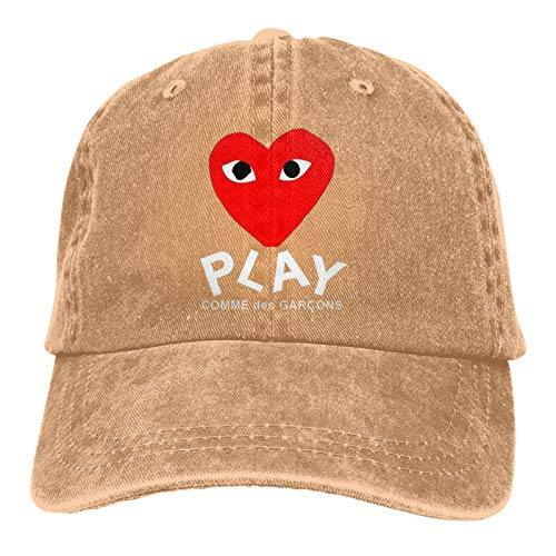 SGDIKL Comme Des Garcons Play Unisex Baseball Cap Outdoor travelsports Cowboy Trucker Hats for Man and Womens