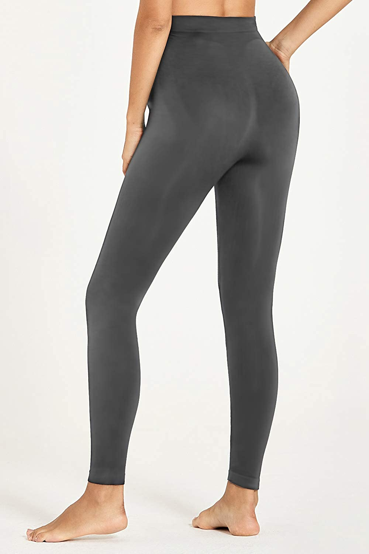 HOFISH Plus Size Maternity Legging Pants Seamless Bottom Thermal Underwear for Pregnant Women