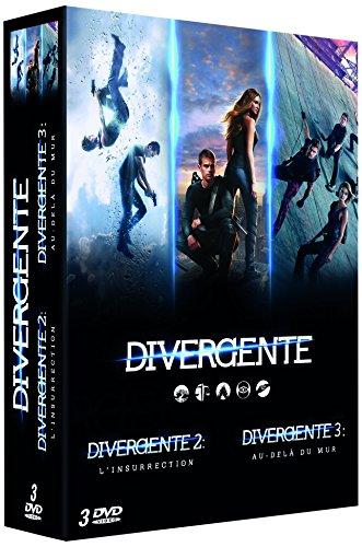 Divergente-Coffret: Cinq destins, Un Seul Choix + L'insurrection + Au-delà du Mur