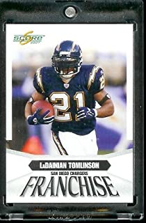 2007 Score Franchise #F 1 LaDanian Tomlinson San Diego Chargers Football Card