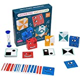 BAKAM Face Changing Rubiks Cubes, Geometric Emoji Cube Game, Wooden Expression Blocks Montessori Toys for Toddlers, Stacking Puzzle Toy for Kids Ages 2-4 Years Old