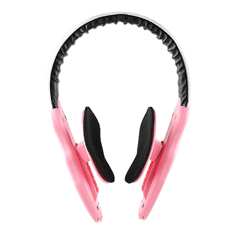 顔の減量 v フェース薄い顔アーティファクトリフティング楽器顔整形女性男性マッサージ,Pink