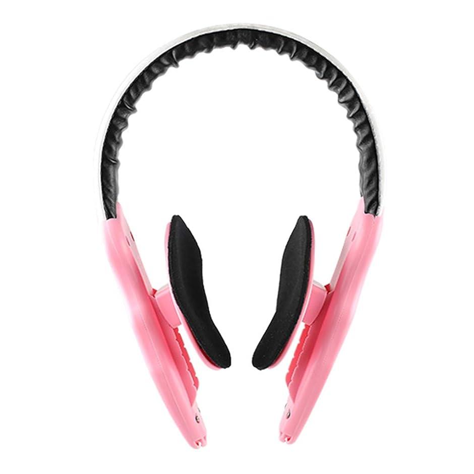 シンプルさインチ聞く顔の減量 v フェース薄い顔アーティファクトリフティング楽器顔整形女性男性マッサージ,Pink