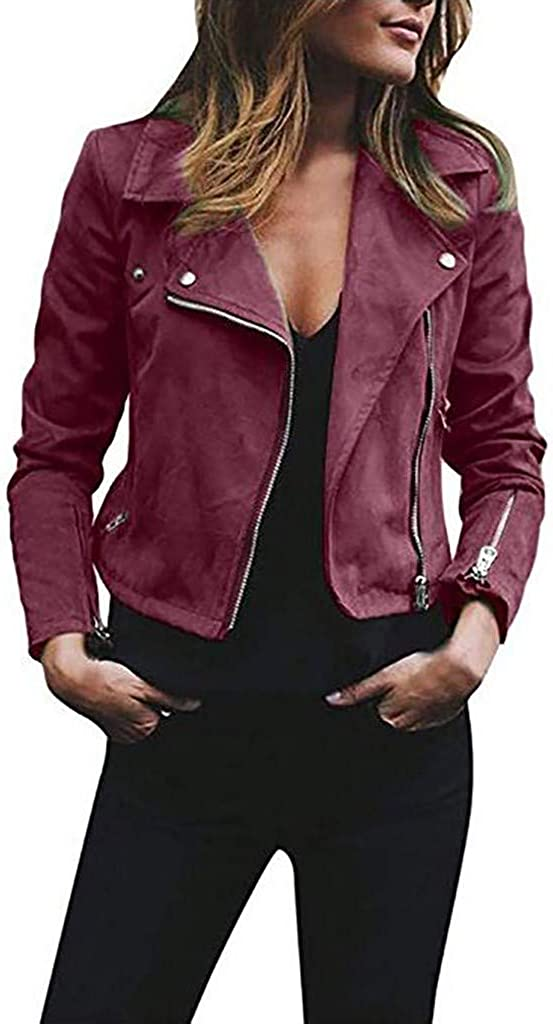 Super intense SALE Gillberry Women Max 79% OFF Stretch Coat Long Zip Casua Print Classic Sleeve