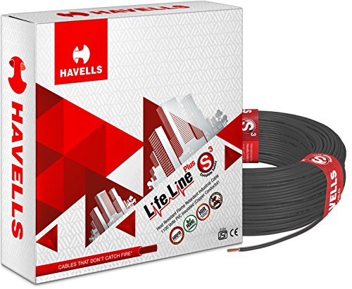 Havells Lifeline Cable WHFFDNKA12X5 2.5 sq mm Wire
