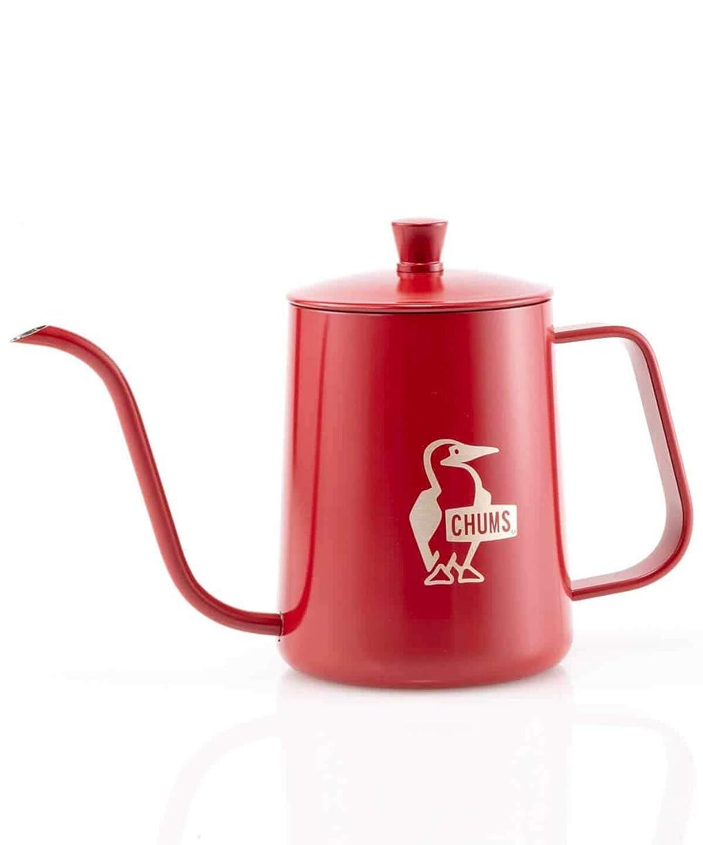 息を切らしてリベラル関係するチャムス (CHUMS) ケトル ブービーハンドドリップコーヒー レッド CH62-1395-R001-00 600ml(約H20.5×W9cm)
