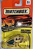 Matchbox 1993 - Tyco Toys Inc Moving Parts - #46 - Military Chopper / Desert Camo - Mission Helicopter - MOC - Out of Production - Limited Edition - Collectible