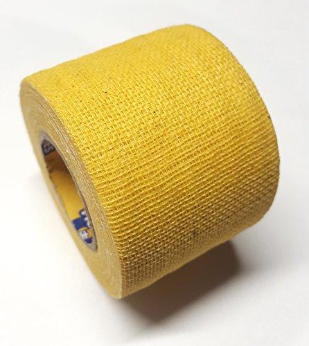 Howies Schlägertape Profi Non-Stretch Grip Hockey-Tape, Griptape (gelb), 4,57 m