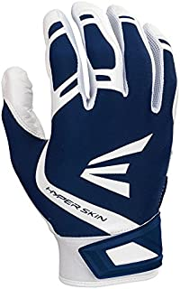 Easton ZF7 VRS HYPERSKIN Fastpitch Softball Batting Glove Series | Pair |+ Women's | 2020 | VRS Palm Pad Reduces Vibration & Blisters | Flexible Hyperskin Lycra | Smooth Leather Palm | Neoprene Strap