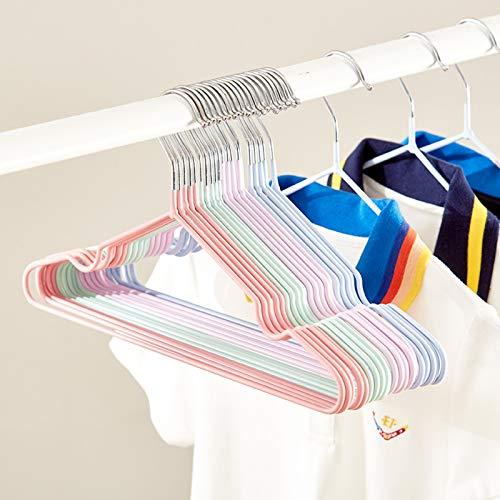 Barnhängare, Babyhängare (20 PS), Barnhängare med skåror, rymdbesparande klädhängare Ej glidande för skjortor, kappa, slacks lagring och display,Purple