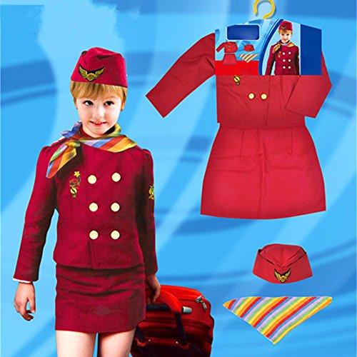 Airline Stewardess Uniform - 7