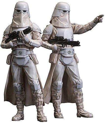 Dochsa Star Wars–Snowtrooper Confezione da 2ARTFX + Statua (18cm)